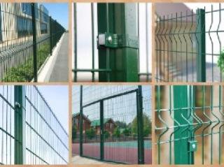 Забор из 3D сетки Керчь цена от 1158 руб.